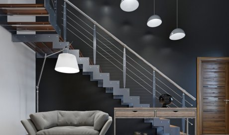 Fabrication d'escalier en bois et métal sur mesure en Savoie