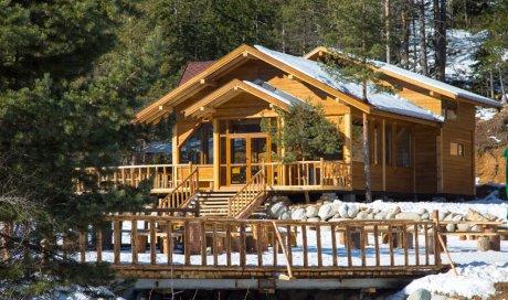 Construction de chalet de luxe en bois à La Clusaz
