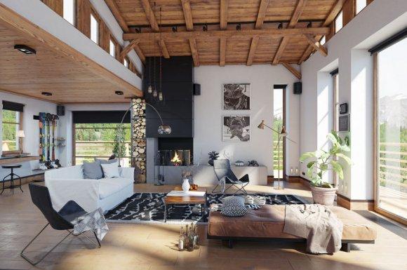 Rénovation complète de chalet à Combloux en Haute-Savoie