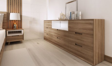 Fabrication et création de mobilier haut de gamme en bois en Haute-Savoie