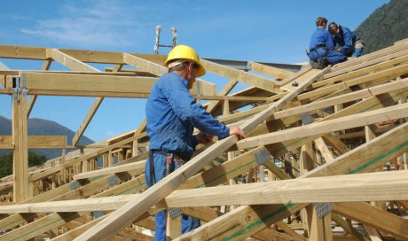 Fabrication et installation de charpente en bois en Savoie